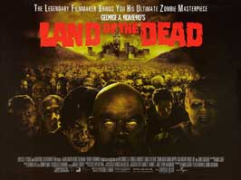 Land of the Dead - 30 x 40 Movie Poster UK - Style A