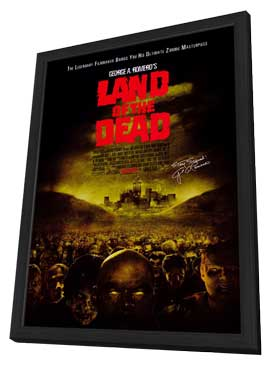 Land of the Dead - 11 x 17 Movie Poster - Style A - in Deluxe Wood Frame