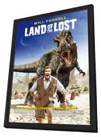 Land of the Lost - 11 x 17 Movie Poster - UK Style A - in Deluxe Wood Frame