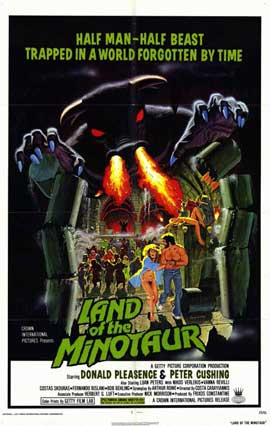 Land of the Minotaur - 11 x 17 Movie Poster - Style A