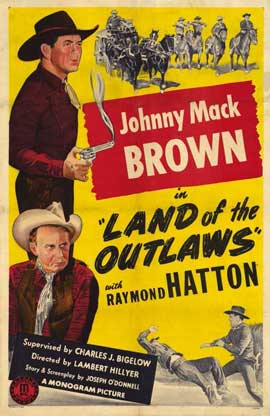 Land of the Outlaws - 11 x 17 Movie Poster - Style A