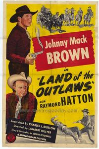 Land of the Outlaws - 27 x 40 Movie Poster - Style A
