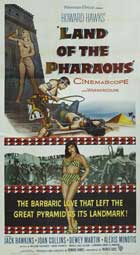 Land of the Pharaohs - 20 x 40 Movie Poster - Style A