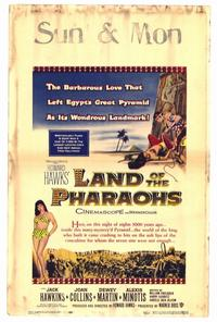 Land of the Pharaohs - 27 x 40 Movie Poster - Style A