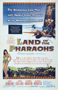 Land of the Pharaohs - 11 x 17 Movie Poster - Style B