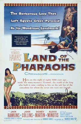 Land of the Pharaohs - 27 x 40 Movie Poster - Style B
