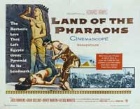 Land of the Pharaohs - 30 x 40 Movie Poster - Style A
