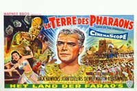 Land of the Pharaohs - 14 x 22 Movie Poster - Belgian Style A