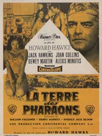 Land of the Pharaohs - 11 x 17 Movie Poster - French Style A