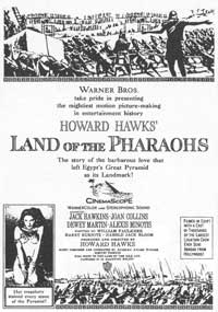 Land of the Pharaohs - 11 x 17 Movie Poster - Style C
