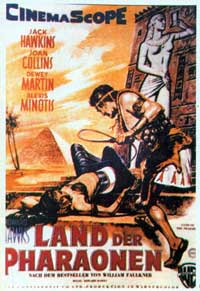 Land of the Pharaohs - 11 x 17 Movie Poster - Belgian Style A