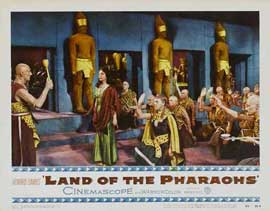 Land of the Pharaohs - 11 x 14 Movie Poster - Style E