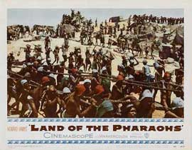 Land of the Pharaohs - 11 x 14 Movie Poster - Style G