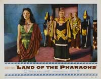 Land of the Pharaohs - 11 x 14 Movie Poster - Style I