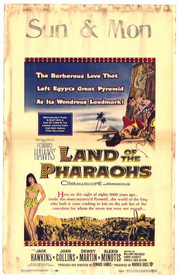 Land of the Pharaohs movie
