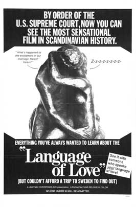 Language of Love - 11 x 17 Movie Poster - Style A