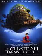 Laputa: Castle in the Sky - 30 x 40 Movie Poster - French Style A