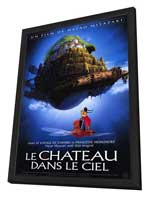 Laputa: Castle in the Sky - 11 x 17 Poster - Foreign - Style A - in Deluxe Wood Frame