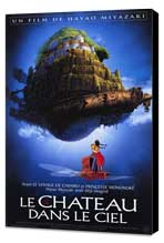 Laputa: Castle in the Sky - 30 x 40 Movie Poster - French Style A - Museum Wrapped Canvas