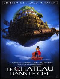 Laputa: Castle in the Sky - 47 x 62 Movie Poster - French Style A