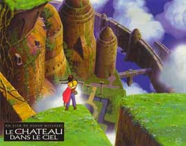 Laputa: Castle in the Sky - 11 x 14 Poster French Style B