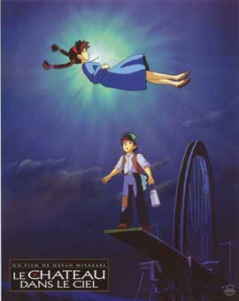 Laputa: Castle in the Sky - 11 x 14 Poster French Style F