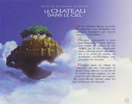 Laputa: Castle in the Sky - 11 x 14 Poster French Style G