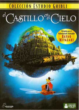 Laputa: Castle in the Sky - 11 x 17 Movie Poster - Spanish Style A