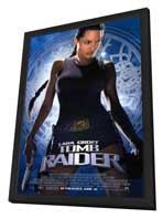 Lara Croft: Tomb Raider - 11 x 17 Movie Poster - Style B - in Deluxe Wood Frame