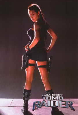 Lara Croft: Tomb Raider - 27 x 40 Movie Poster - Style B
