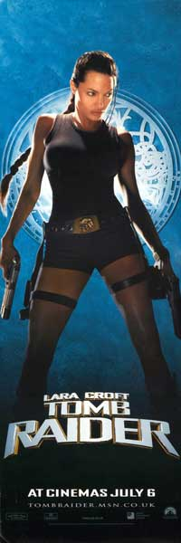 Lara Croft: Tomb Raider - 20 x 60 - Door Movie Poster - UK Style A
