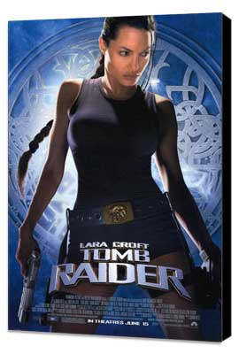 Lara Croft: Tomb Raider - 27 x 40 Movie Poster - Style A - Museum Wrapped Canvas