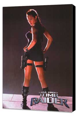 Lara Croft: Tomb Raider - 27 x 40 Movie Poster - Style B - Museum Wrapped Canvas