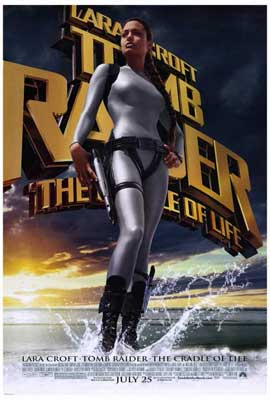 Lara Croft Tomb Raider: The Cradle of Life - 27 x 40 Movie Poster - Style A