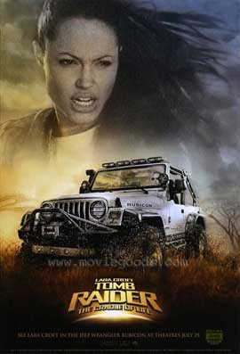 Lara Croft Tomb Raider: The Cradle of Life - 27 x 40 Movie Poster - Style C