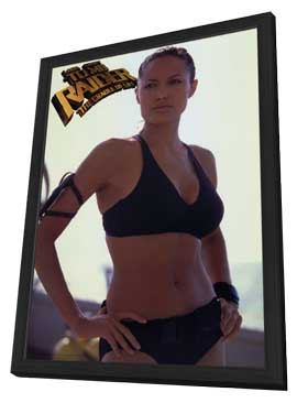 Lara Croft Tomb Raider: The Cradle of Life - 11 x 17 Movie Poster - Style B - in Deluxe Wood Frame