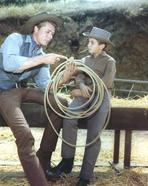 Laramie - Laramie Cast in Cowboy Outfit