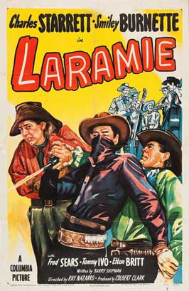 Laramie - 27 x 40 Movie Poster - Style A