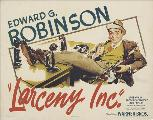 Larceny, Inc. - 11 x 17 Movie Poster - Style B