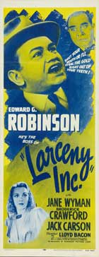 Larceny, Inc. - 14 x 36 Movie Poster - Insert Style A