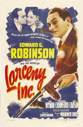 Larceny, Inc. - 11 x 17 Movie Poster - Style A
