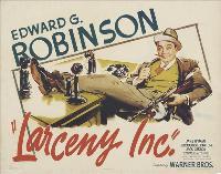 Larceny, Inc. - 11 x 17 Movie Poster - Style B