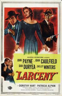Larceny - 27 x 40 Movie Poster - Style A