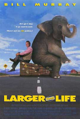 Larger Than Life - 11 x 17 Movie Poster - Style A