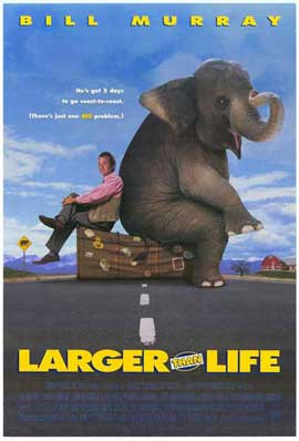 Larger Than Life - 27 x 40 Movie Poster - Style A