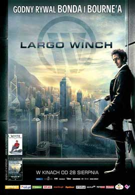 Largo Winch (TV) - 27 x 40 Movie Poster - Polish Style A