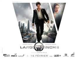 Largo Winch (TV) - 30 x 40 Movie Poster - French Style B