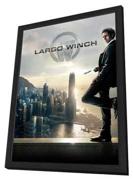 Largo Winch (TV) - 27 x 40 Movie Poster - French Style A - in Deluxe Wood Frame
