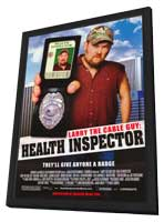 Larry the Cable Guy: Health Inspector - 11 x 17 Movie Poster - Style A - in Deluxe Wood Frame