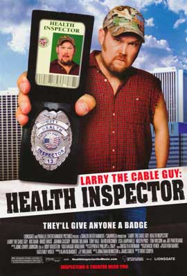 Larry the Cable Guy: Health Inspector - 11 x 17 Movie Poster - Style A